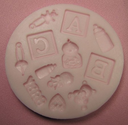 Baby Shower Mold Set of 12