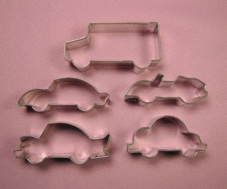 Cars Set of 5 Small