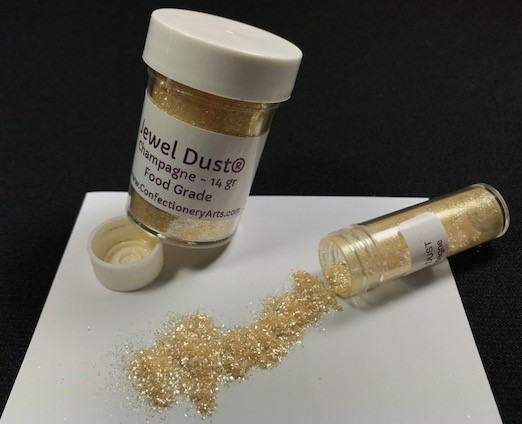 Jewel Dust Champagne 14 Gram By Confectionery Arts International