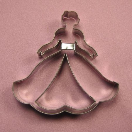 "Princess cutter, by Fiesta, creates a 4 1/4"" x 4 1/4"" sized Princess silhouette."