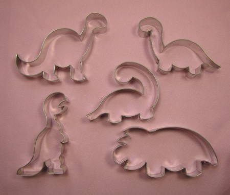 Dinosaurs Large Set of 5