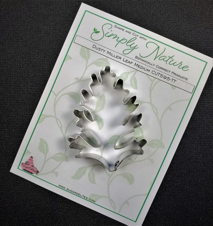 "Dusty Miller Leaf Cutter Medium by Simply Nature Botanically Correct Products®, was designed by Jason Dontz and Jennifer Dontz of Sugar Delites, and creates the most realistic Dusty Miller leaf interpretation possible. The Dusty Miller leaf cutter measures 2 ¾"" x 1 7/8"". This cutter is designed to be paired with the Simply Nature Botanically Correct Dusty Miller Leaf Veiner (VEI091). When paired together, Simply Nature brand cutters and veiners will create a detailed botanically correct replication of nature."