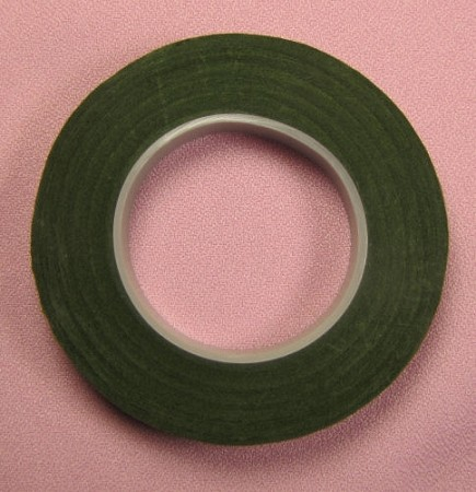 Moss Hamilworth high quality floral tape-1/2 inch (full width).
