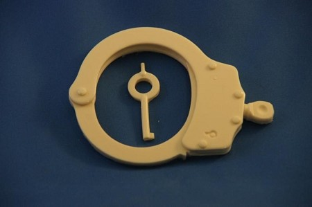 Handcuff Closed With Key