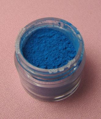 Ice Blue Petal Dust by TSA. 1/2 oz. net, Kosher. This is an FDA approved dust.