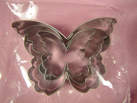 Butterfly Cutters Set of 3