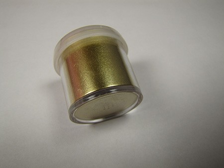 Imperial Gold Highlighter Dust by CK Products. 3g Net, for use on non-edible items.