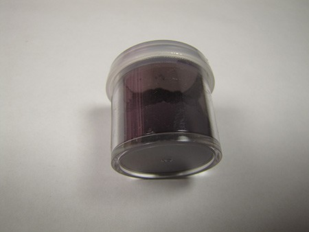 Eggplant Purple Heather Petal Dust by CK Products. 4g Net, non-toxic.