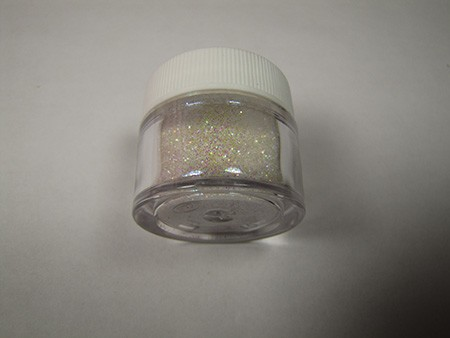Rainbow (Brilliant) Sparkle Dust by The Sugar Art. 1/2 oz. Net, non-toxic.