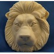 "Lion #2 Head, by DTC, measures 3 1/4"" x 2 1/2"" x 5/8""."