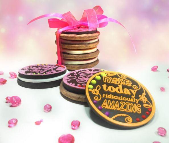 Birthday Wishes Chocolate Disc Mat