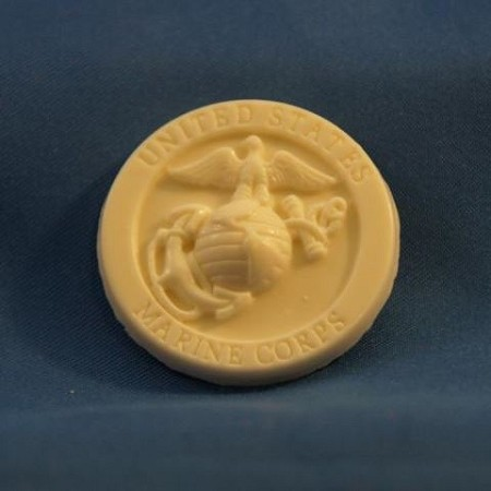 "Marine Seal Small, by DTC, measures 1 1/4"" x 1 1/4""."
