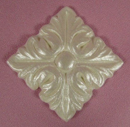 "Medallion Petite By Jennifer Dontz measures 2"" x 2"" x 1/8""."