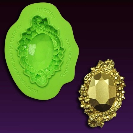 Brooch Imperial Jewel Mold