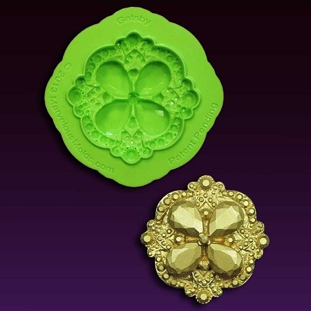 Brooch Gatsby Mold