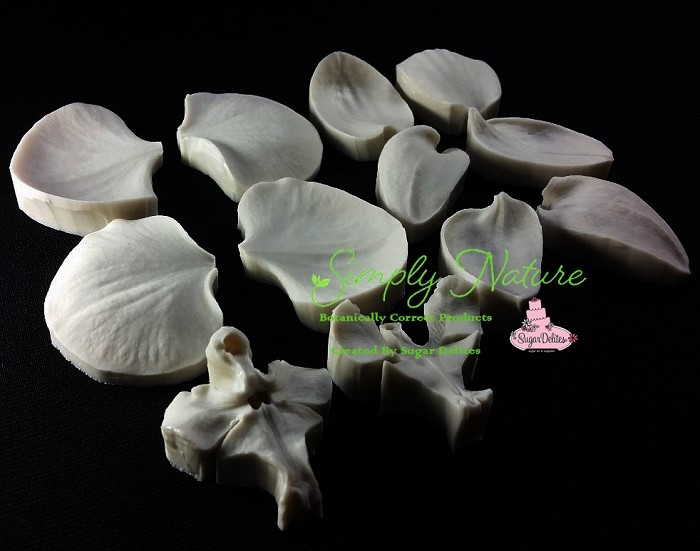 Moth Orchid Petals and Throat Veiner Set By Simply Nature Botanically Correct Products®