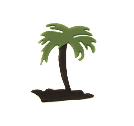 Palm Tree By Jennifer Dontz