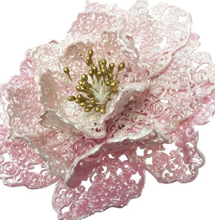 Fantasy Flower 3D Peony Lace Mat