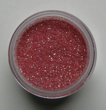 Pink Rose Sparkle Dust by Sugar Delites. Non-Toxic, net weight 5 grams.