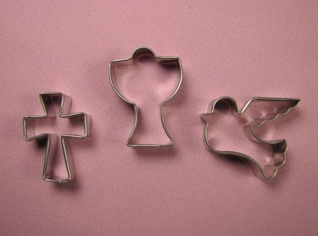 Religion Cross, Communion, and Baptism Set SD