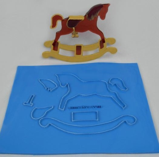 Rocking Horse Sculpture Kit By Simi Cakes