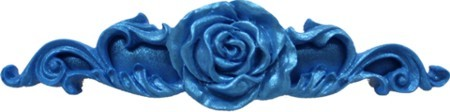 "Rose Swag by First Impressions measures approximately 3/4"" x 3 1/2"" x 3/8""."