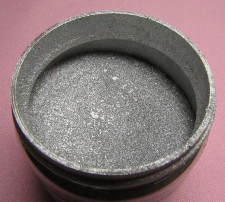 Silver Highlighter Dust 56g by TSA. Container contains 56 grams of Silver Highlighter Dust, non-toxic.