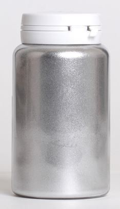 Silver Highlighter Dust 1 oz. by Ideale Pastry is a non-edible, brilliant colored metallic highlighter dust. Like all highlighter dusts, it's recommended that this product is removed before consumption.