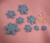 Snowflake Mold By Sugar Delites