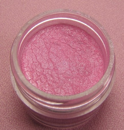 Sterling Pearl Pink Zinnia Luster Dust by TSA. 1/2 oz. Net, kosher. This is an FDA approved luster dust.