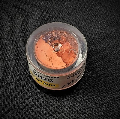 Sunrise Petal Dust by TSA. 1/2 oz. net, Kosher. This is an FDA approved dust.