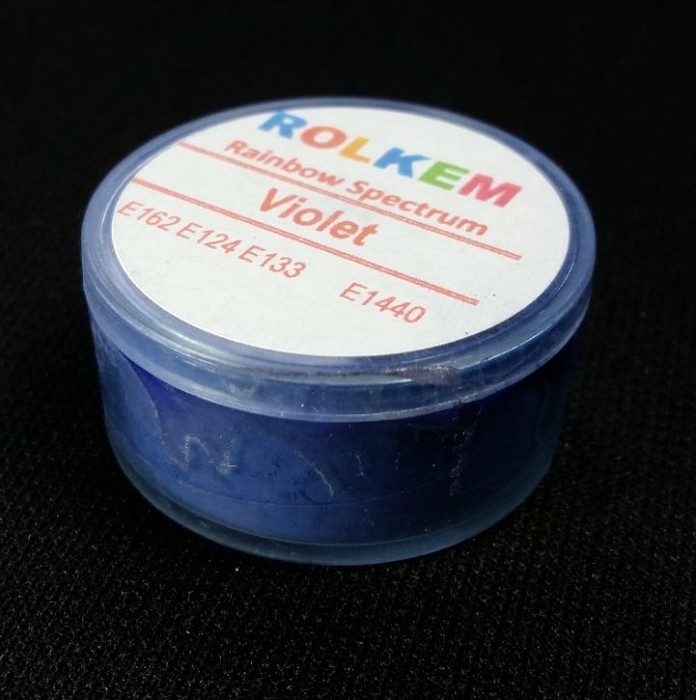 Violet Rainbow Spectrum Petal Dust By Rolkem