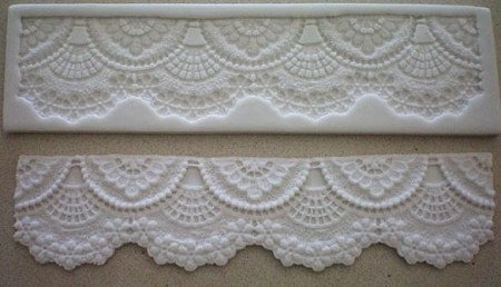 Wide Scalloped Lace Border